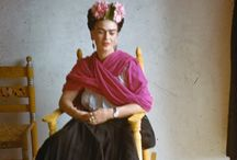 Frida - my hero / by Violet Tate