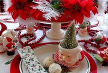 CHRISTMAS TABLE DECOR / by MJ Murray