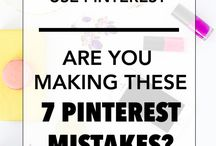 Pinterest Tips For Bloggers / Posts to help bloggers learn about how to use Pinterest. Posts to help bloggers grown their businesses and blogs. Tips and advice from experienced pinners.