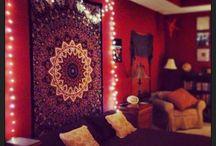 Dormitorio hippy