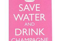 Champagne Humor and Art