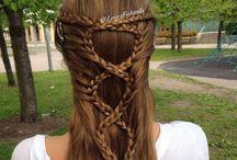 cabelos/penteados/tranças