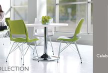 Doni Seating Collection / The Dōni seating collection celebrates color and comfort. This comprehensive line of seating, designed by Giancarlo Piretti, offers endless design freedom and the comfort you expect from KI. / by Bill Thomason & Associates