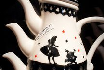 Teapots & Cups & Chocolate pots / I just love tea. Love. all the different style teapots.   I am not one to gave the ordinary.  / by Judy Bruner