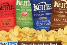 kettle brand chips... salt and vinegar / by Britni Lee