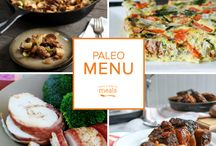 Paleo Nut Free Freezer Menu October 2015 / Our Paleo October menu is filled with delightful dishes inspired by autumn. From creamy pumpkin pie pudding and cranberry studded holiday hash to succulent baked pork chops and tender balsamic short ribs, these paleo nut free selections bring a taste of the season to your table. / by Once A Month Meals