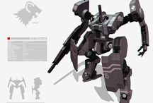 Mecha - Tecnology - Inventions