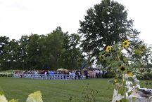 Elegant Barn Wedding Inspiration / elegant farm wedding inspiration