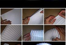 accordian ball origami