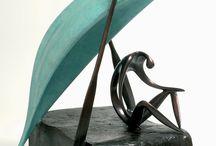 LEON BRONSTEIN ARTIST   Sculptures by Leon Bronstein