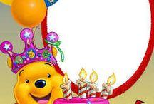 Födelsedagskort mallar