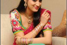 Richa Panai Saree Stills