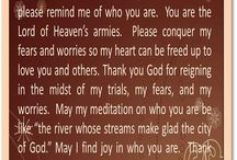 Prayers & scriptures / by Belinda Lindsey