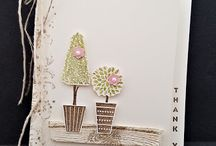 Vertical greeting - 2107 Stampin'Up / card ideas