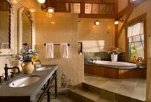bathrooms / by Stephanie Powell