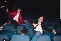 Joel and Chris