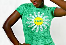 Running Apparel / You can sweat pretty in these one of a kind designs that are not only light weight and cool to run in, but AWESOME looking too! 65% polyester 35% cotton