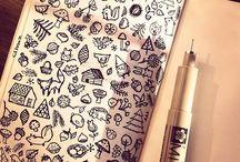 Орнаменты и рисунки