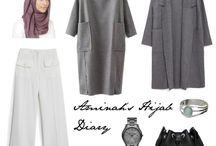 fashion hijab traveler