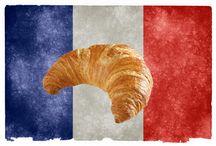 Frans eten / Bord over de Franse haute cuisine