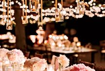 Light it up / How light can be an effective venue dressing idea and can set the mood and atmosphere for your day