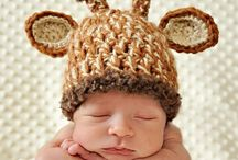 Newborn Baby Crochet Giraffe Hat! So cute!!!