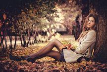 идеи для фото осенью