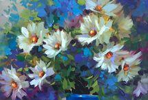 Virágok / festészet