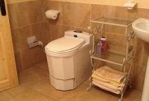 Incinerating Toilets / Incinerating toilet Installations