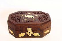 Wooden Vintage Jewellery Box