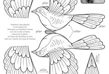 papíroví ptáci