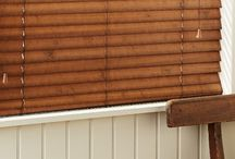 Distressed Chic / Distressed wood chic blinds