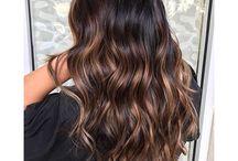 Cores no cabelo