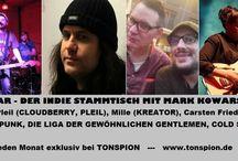 ROCKBAR - DER INDIE STAMMTISCH / ROCKBAR - DER INDIE STAMMTISCH MIT MARK KOWARSCH Jeden Monat exklusiv bei TONSPION www.tonspion.de http://www.tonspion.de/neues/neueste/5836477