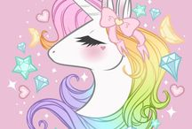 unicorn stıcker