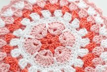 crochet potholders, dishclothes
