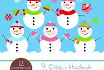 Winter Wonderland / Find all designs having to do with winter, snow and christmas