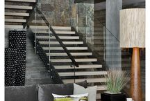 Inspiration - Stairs / Make your stairs interesting and unique.