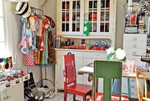 Craft Room / How to get your craft things organize!