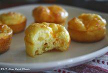 Three cheese breakfast puffs