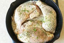 Savoury dishes ( chicken )