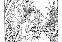 Fairy Tales and Mythology Coloring Pages