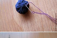 бусины текстиль