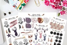 Dream Planner Stickers
