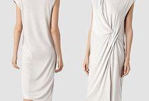 Allsaints Leena Vi Dress in Gray