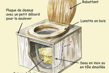 toilette sèche jardin