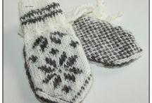 Selbu mittens / Norwegian knitting. Handmade by Guri Ø. Halvorsen