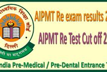 AIPMT Re Test Results 2015