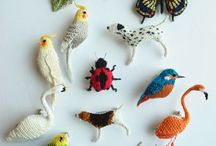 Crochet birds, virkade fåglar