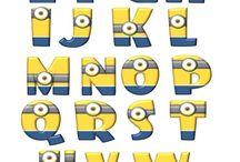 letras minions